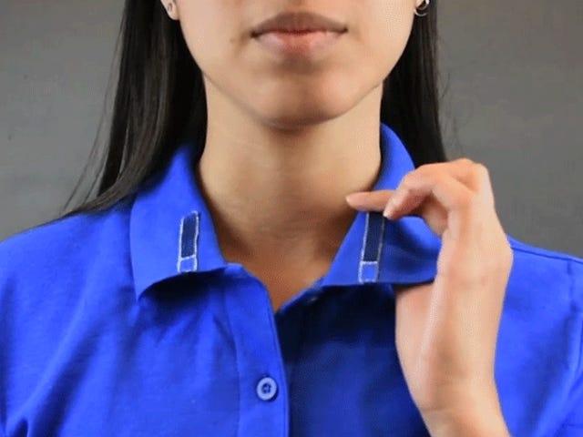 電子生地への新しいアプローチはあなたの服を決して失うことのないリモートに変えることができます