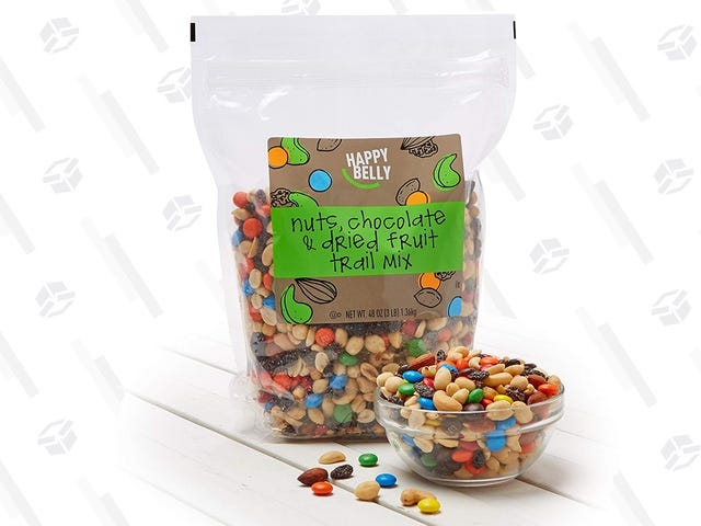 Stack a Bunch of Savings to Get Three Pounds of Trail Mix For $10 Shipped