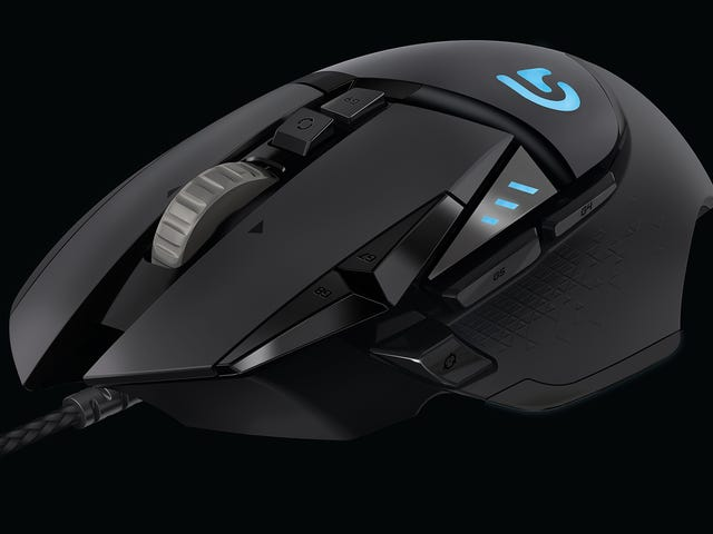 Logitech G502 Proteus Core: The Gaming Mouse To Beat