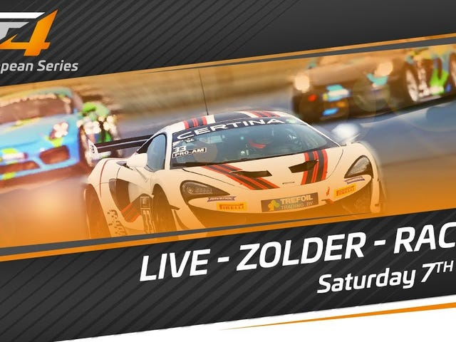 GT4 European Series is on YT right now.
