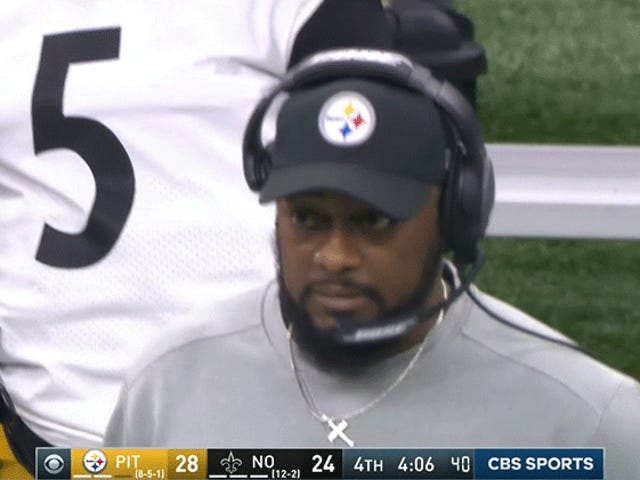 The Steelers Came Up Short One Too Many Times In Their Loss To The Saints
