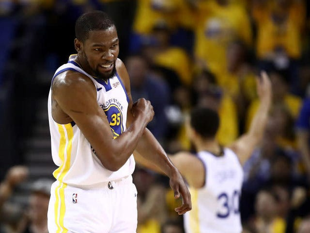 Kevin Durant Probably Won't Be Ready For Start Of NBA Finals, Will Have Time To Continue Posting