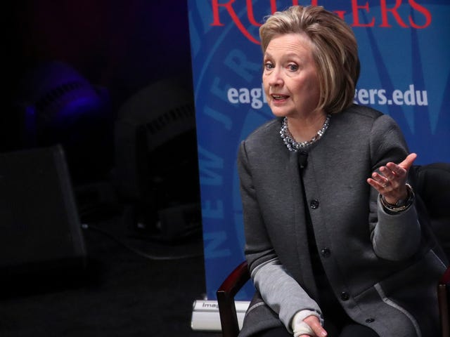 Hillary Clinton Was Not Super Pleased People Told Her to Shut Up and Go Away After the Election