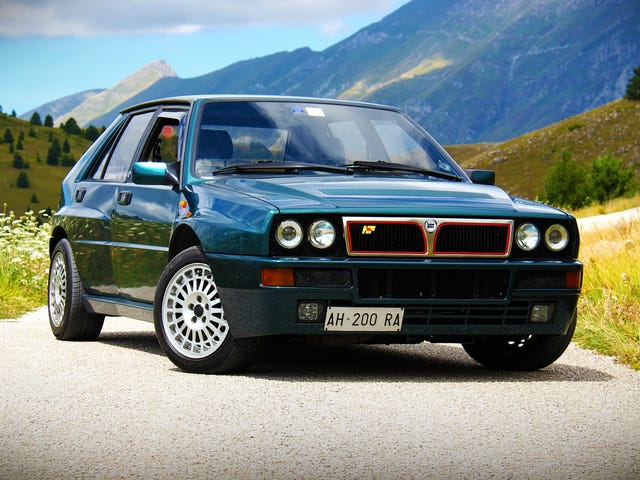 I Saw A Lancia Delta Integrale Today
