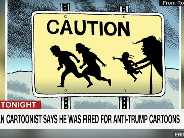 Pittsburgh Post-Gazette Fires Editorial Cartoonist Critical of Trump: Here's Why That Should Scare the Shit Out of You