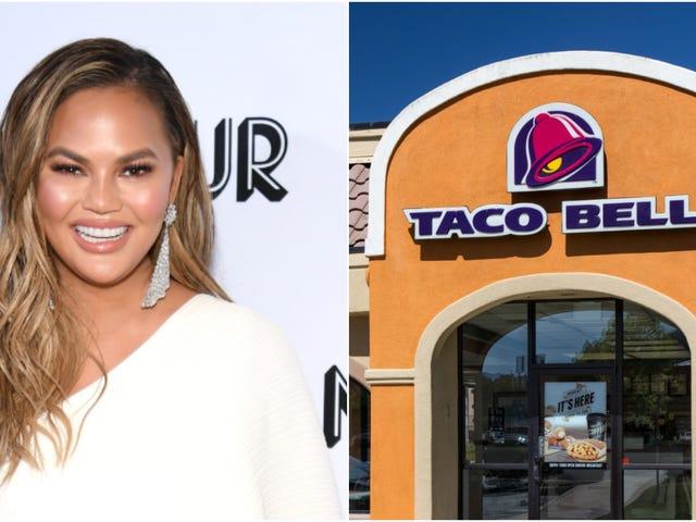 Chrissy Teigen has taco ideas for Taco Bell