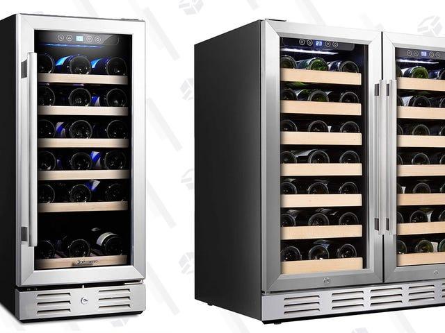 Uncork en Prime Day Deal på en vin kylskåp, eftersom du är värd det