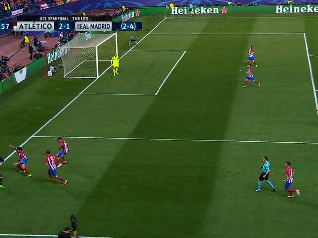 Ato de Houdini de Karim Benzema derruba todos os sonhos de retorno do Atlético de Madrid