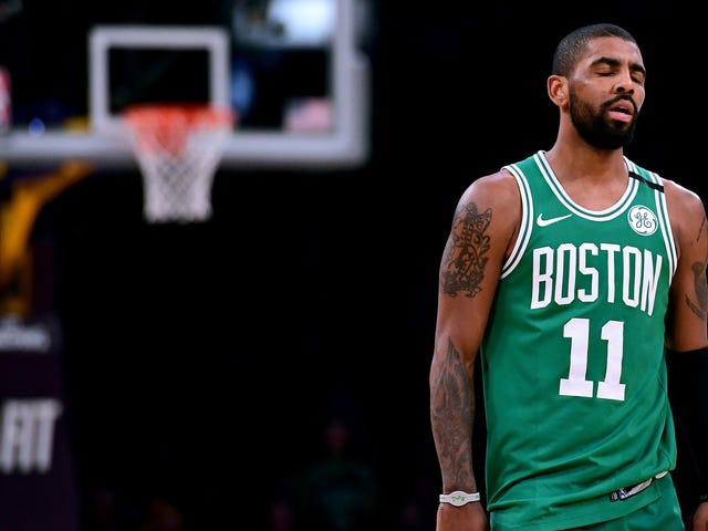 Kyrie Irving Is Out For The Playoffs And The Celtics Are Hosed