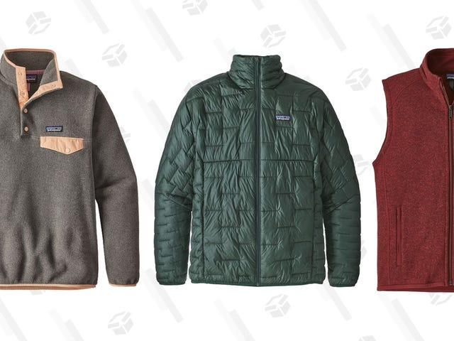Patagonia Is Marking Down a Ton of Winter Essentials