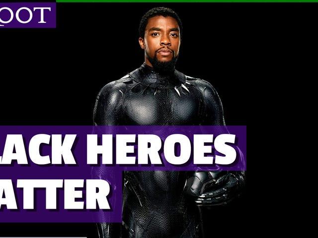Watch: Black Panther Cast erklärt, warum schwarze Superhelden wichtig sind