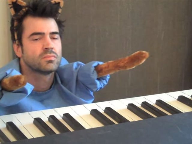 Ron Livingston attained perfection with his first and last YouTube video