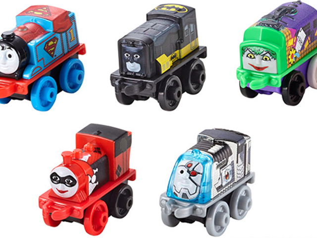 DC Heroes Mixed With <i>Thomas The Tank Engine</i> är en mest underbar skräck