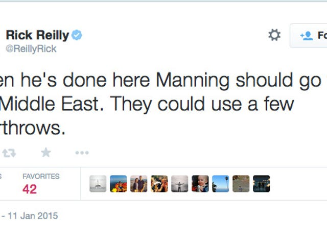 Rick Reilly makes more stupid remarks on Twitter.