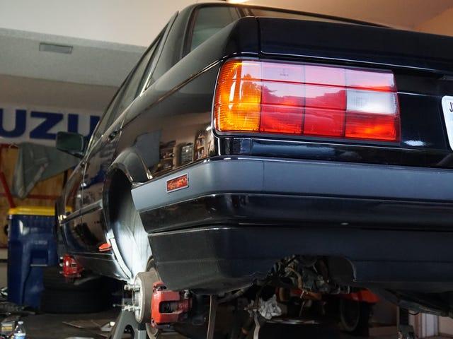 Miten säästin projektini BMW E30 Rust Oblivionista oppimalla Weldiin