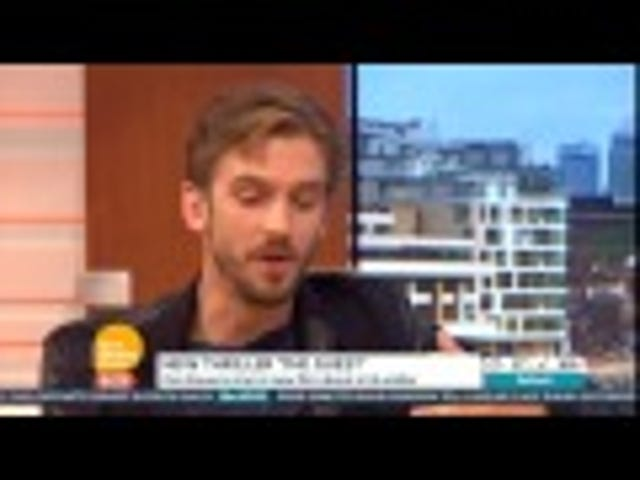 TV Host Asks Dan Stevens if He Had to 'Beat Off' Other Men for a Role