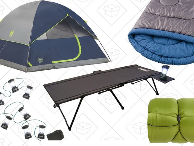 Enjoy This Global Warming-Powered Extending Camping Season With Amazon's One-Day Coleman Sale