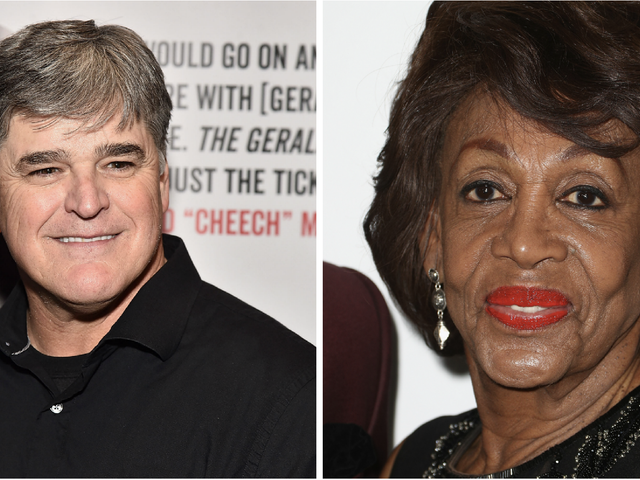 Sean Hannity Blames Maxine Waters for the Capital Gazette Shooting