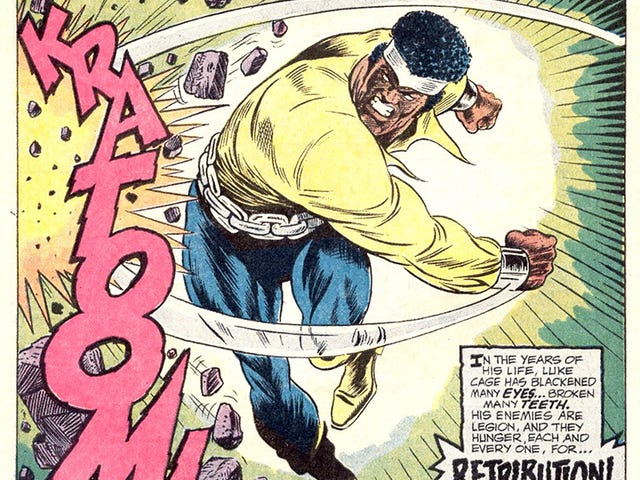 Here's A Great Article About Billy Graham, the First Black Artist on Luke Cage and Black Panther
