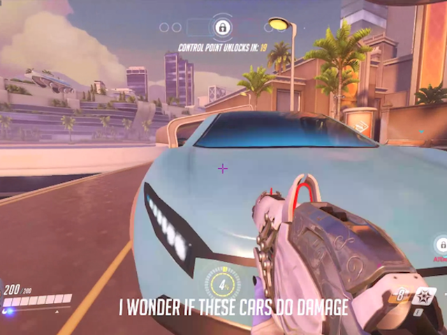 Traffic Can Kill You In Overwatch's New Map