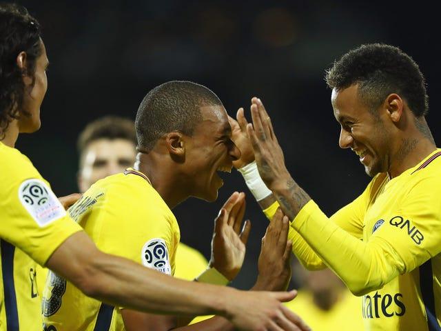 Assim começa a emocionante Era Terrível Neymar-Mbappé-Cavani