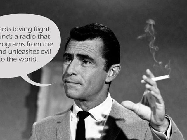 Open a door to madness with this Twilight Zone plot generator