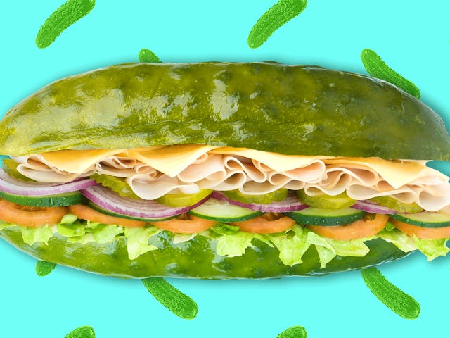 Dill, baby, dill: The pickle sandwich is a thing of beauty
