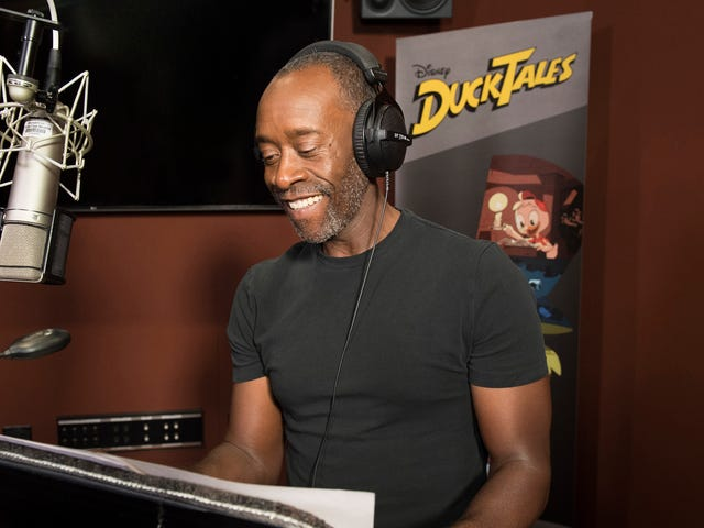 Don Cheadle Voicing Donald Duck Is Everything