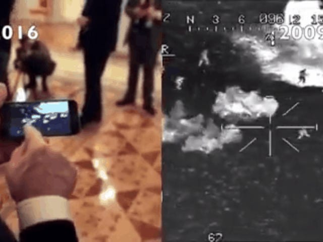 Video That Putin Shows Oliver Stone of Russians Fighting ISIS is Totally Fake [Updated]