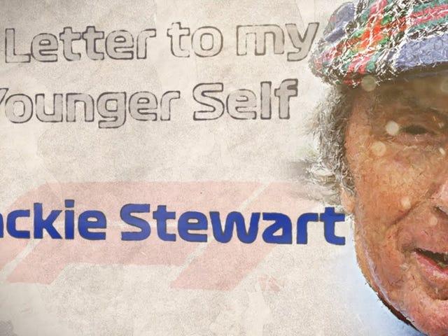 Sir Jackie Stewart talar ...