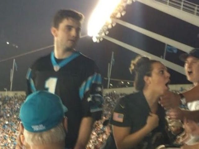 Sucker-Punching Panthers Fan Arrested And Charged With Assault