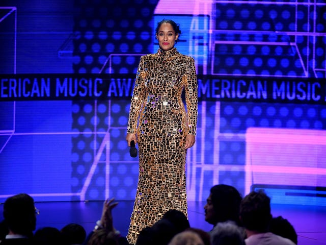 'Tonight Is About Clothes': Tracee Ellis Ross Turned the AMAs Into a Showcase for Black Designers