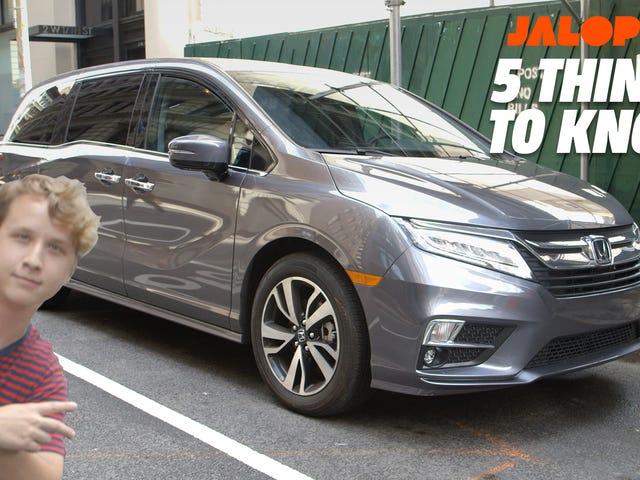 2019 Honda Odyssey: Пять вещей, которые на самом деле делают это интересным