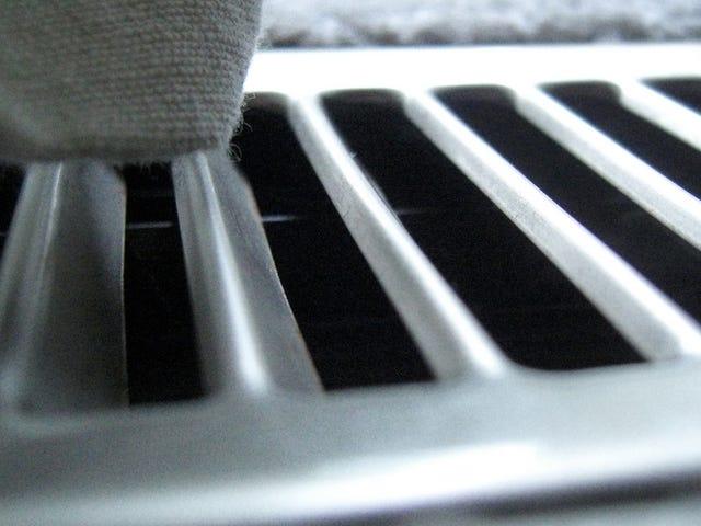 Αποφύγετε το κλείσιμο πάρα πολλών αεραγωγών για να διατηρήσετε αποτελεσματικά την εναλλασσόμενη τροφοδοσία