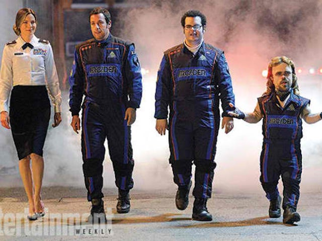 Peter Dinklage's Prison Mullet Looks Sublime In First Still From Pixels