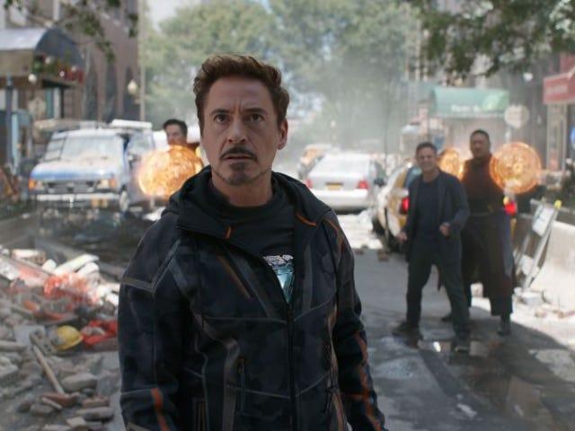 Θαυμάστε τη φαντασία της κύριας θεωρίας της σκηνής του Iron Man en Avengers: Ο πόλεμος του Infinity