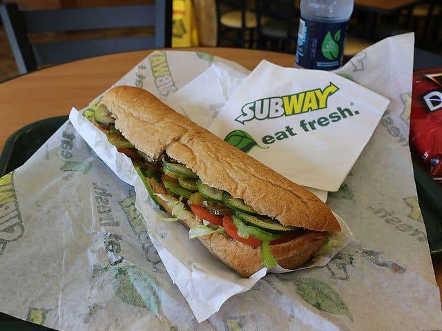 U-Bahn ist jetzt ein Lebensmittelgeschäft?