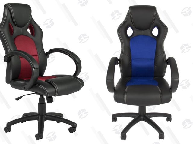 This $65 Desk Chair Looks Like It Needs a Seatbelt