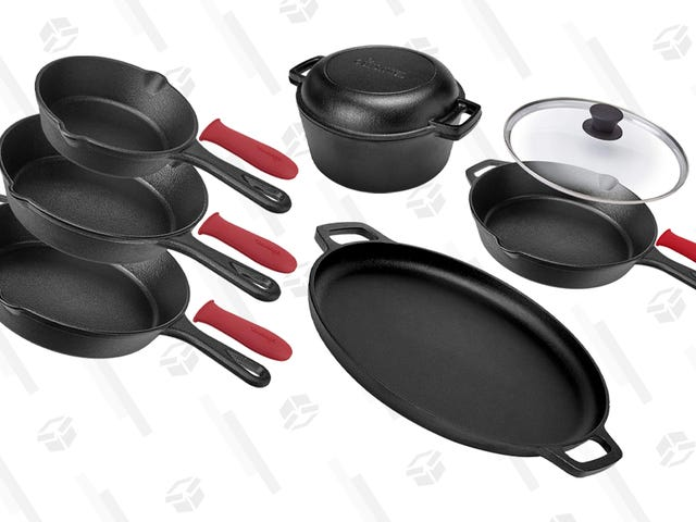 Add a Ton of Cast Iron Gear to Your Kitchen with Today's Gold Box