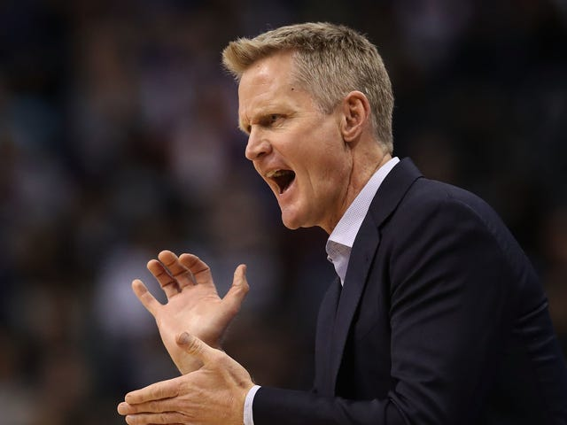 The Warriors Had Another Weird One, And Now It's Time To Read Steve Kerr's Lips