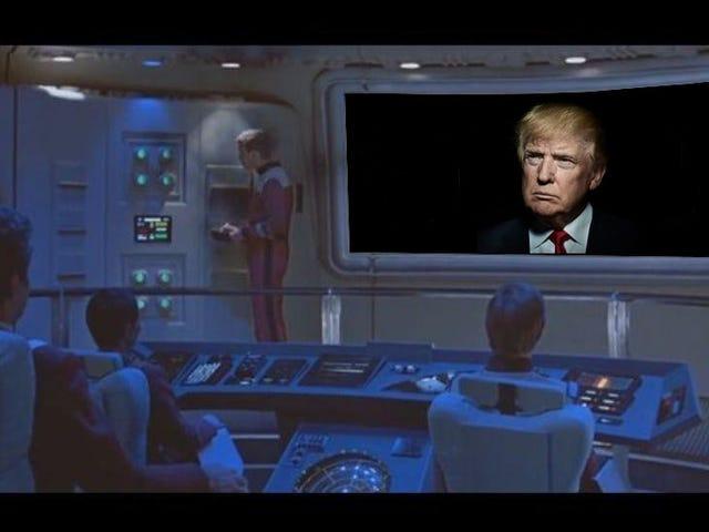 Søndagsmusik: Føderationen og Trump
