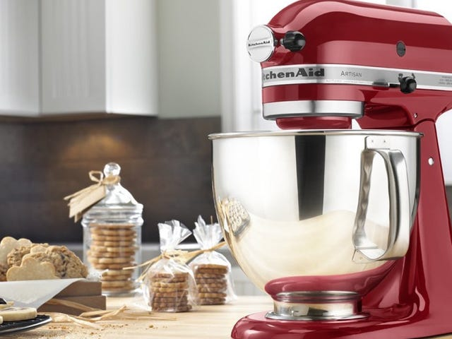 Save Nearly $100 On the Essential KitchenAid Artisan Stand Mixer