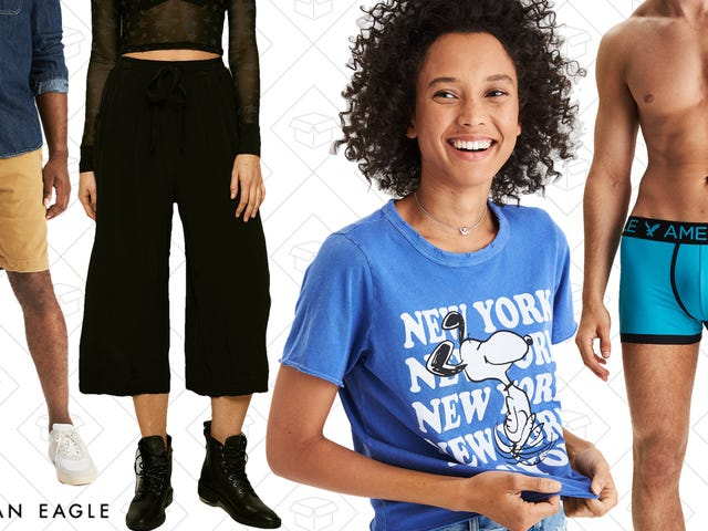 American Eagle Is Taking Up to 70% Off A Ton Of Stuff