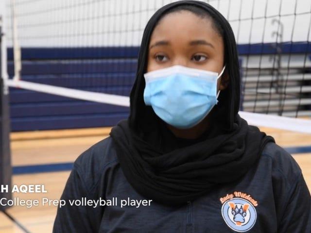 La escuela de Nashville busca un cambio en las reglas después de que un estudiante-atleta musulmán fuera descalificado del partido de voleibol por el hijab