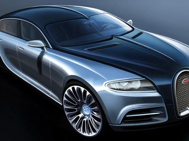 Bugatti SUV Aptal Olacak