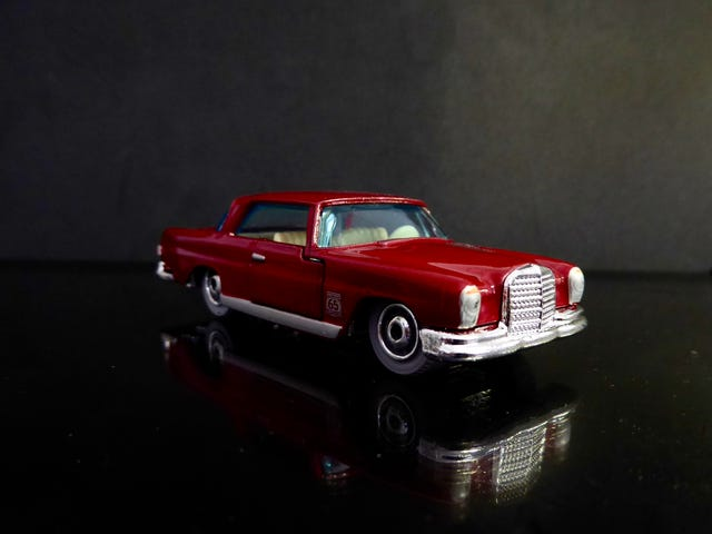Hot Sixty 4th: Teutonic Tuesday with a Matchbox Mercedes with opening parts