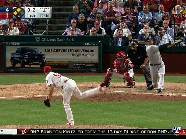 Let's All Laugh AtDellin Betances Trying To Hit Major League Pitching