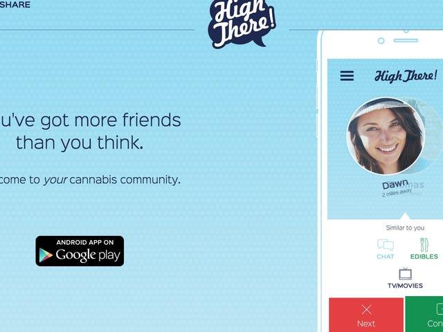 Diese neue Dating-App ermöglicht Weed Lovers Connect