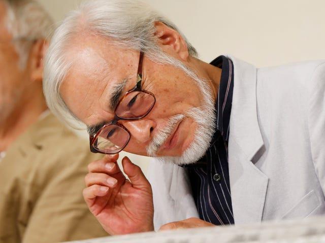 Warning: Hayao Miyazaki Is A Tricky Job Interviewer