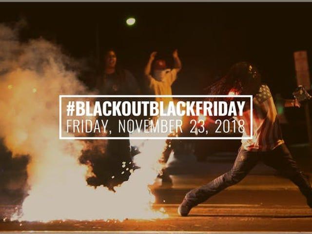 İnsan Hakları İçin Karartma 5. Yıl Başlıyor #BlackoutBlackFransa'da Terence Nance ile Eylem